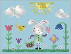 The Floss Box | Welcome, Spring Cross Stitch