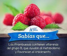 #Sabíasque #frambuesas #HuevoSanJuan.