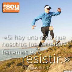 Los corredores resistimos. #SoyMaratonista #Running