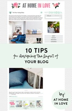 10 Tips for Designing a Blog