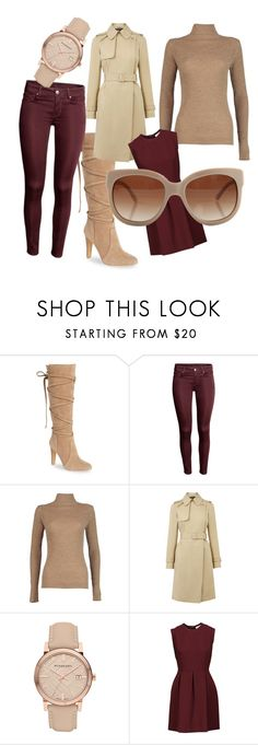 """Cozy Fall"" by artyblue06 ❤ liked on Polyvore featuring Vince Camuto, Boohoo, Warehouse, Burberry, Sandro and STELLA McCARTNEY"