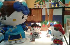 """Hello Kitty """"Street Fighter"""" Plushies are Headed to Stores"""