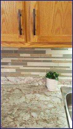 MamaEatsClean: Typhoon Bordeaux Laminate   A Honey Oak Kitchen With White  Appliances   A 4