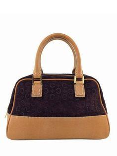 635557b748ec Celine Vintage Suede Monogram Leather Trim Satchel Bag Burgundy Borla De  Couro, Couro Caramelo,