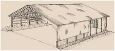 Free, Pole-Frame Equipment Shed Plans from The Canada Plan Service