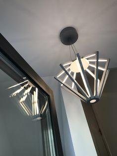 LED light fixture for the modern entrance