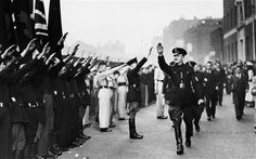 In 1936, the new Public Order Act was intended to deal with threatening behaviour by Oswald Mosley's Blackshirts
