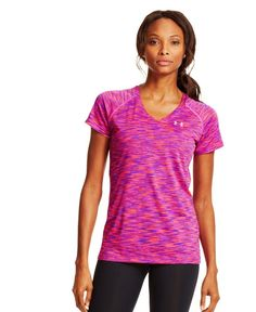 Women's  Under Armour Tech; Space Dye T-Shirt #UnderArmour #ShortSleeveShirt