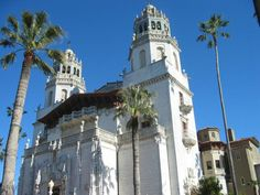 Hearst Castle in San Simeon, California Hearst Castle showcases the painstaking craftsmanship of Julia Morgan. The lavish structure was designed for William Randolph Hearst, the publishing mogul.  Hearst Castle (San Simeon) 1922-1939 Julia Morgan, architect San Simeon, California Architect Julia Morgan incorporated Moorish design into this 115-room, 68,500 square foot Casa Grande for William Randolph Hearst. Surrounded by 127 acres of gardens, pools, and walkways