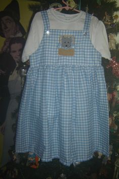 Dorothy dress with TOTO embroidery