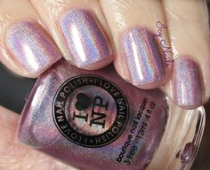 Icy Nails: I Love Nail Polish Pixie Dust: Review. Please click through for my review of this light lavender based linear holo polish.  via@Erika Costello