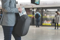 This backpack will keep its contents safe from thieves and pickpockets