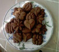chocolate spritz cookies