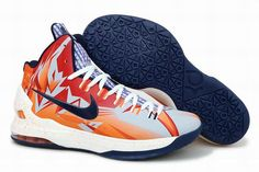 huge discount c44c8 417c2 New Nike Zoom KD V Orange Navy PE Basketball shoes New styles best basketball  shoes for vertical jump