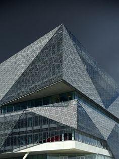 Stadshuis in Nieuwegein in The Netherlands by 3XN Studio