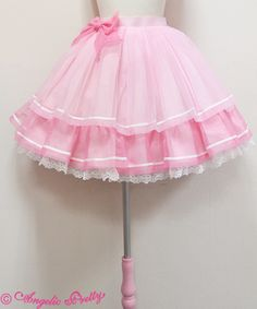 Sherbet Marine Skirt by Angelic Pretty Harajuku Fashion, Kawaii Fashion, Lolita Fashion, Cute Fashion, Pastel Goth Outfits, Pastel Outfit, Girl Outfits, Fashion Outfits, Japanese Fashion