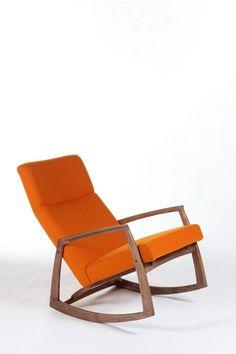 Sitdownny.com, Bollnas lounge rocking chair, $899.00