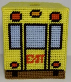 Best Bus Driver Tissue Box Cover by cecrafts on Etsy