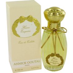 Heure Exquise is translated from the French and is the hour when dusk turns to evening and flowers give off their last breath of beautiful scent. Annick Goutal loved this perfume and wore it often. This fragrance for women is a romantic and feminine and is considered a classic in the line.