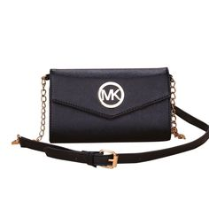 #CelebrateWith #MichaelKors Taking Michael Kors Fulton Flap Messenger Medium Black Crossbody Bags, You Will Become More Beautiful And Elegant! Just Come To Buy Now! It Brings You Most Wonderful Life!