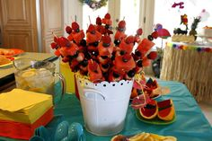 Luau Birthday Party Ideas | Photo 17 of 27 | Catch My Party