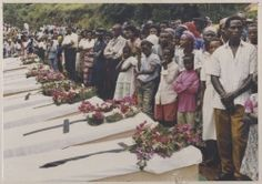 Site with photos, maps, and information on the Rwanda Genocide