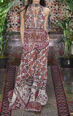 Empire Long Dress by ROBERTO CAVALLI for Preorder on Moda Operandi