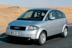Audi A2... Audi should have brought this car to the US market years ago. But, now in diesel, electric or hybrid.. bring it NOW, please.