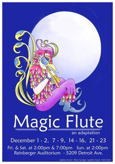 Magic Flute Opera Poster | The Magic Flute Poster Magic flute an adaptation.
