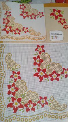 Cross Stitch Borders, Cross Stitch Patterns, Cross Stitch Kitchen, Bargello, Knitting Designs, Knit Crochet, Embroidery, Quilts, Flowers