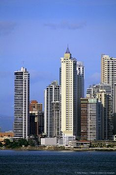 Skyline, Panama City, Panama, Central America.I want to visit here one day.Please check out my website thanks. www.photopix.co.nz