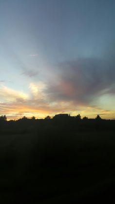 Wonderfull sunset sky