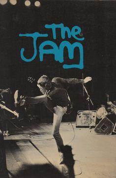 Paul Weller of The Jam in Music Jam, Art Music, Music Artists, Pop Rock, Rock N Roll, The Ventures, The Style Council, Music Flyer, Paul Weller