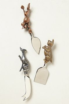 I really don't want the whole set, just 3 of the Whippet cheese knife would do; #PinToWin #Anthropologie