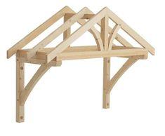 Timber/Felt Front Door Canopy Porch / Hand Made Porch Porch Canopy Kit, Canopy Tent, Backyard Canopy, Fabric Canopy, Canopies, Ikea Canopy, Canopy Bedroom, Garden Canopy, Canopy Outdoor