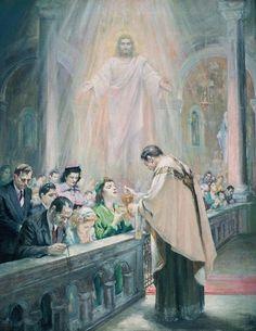 Oneness in Christ, by Ariel Agemian, 1958