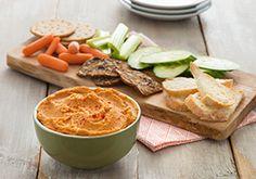 Almond Breeze : Sweet Potato Hummus