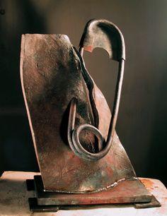 Pongolini Giuseppe - L'inhabituelle expression de la douleur - Sculpture