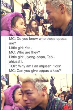 ............ So adorable. OMO i wish i was her!!!!! smart cookie... She called him grandpa by the way.. I want to kiss him too XDD!