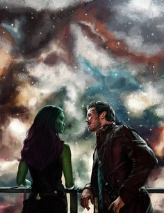Be a hero like Kevin Bacon in Footloose. Guardians of the Galaxy. Gamora and StarLord