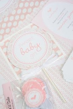 Pretty in Pink Baby Shower Designs!