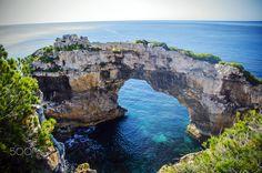 Es Ponta - The Arch, Majorca, Spain 2017 - Es Ponta - The Arch, Majorca, Spain 2017 Majorca, Arch, Landscapes, Spain, Water, Outdoor, Paisajes, Gripe Water, Outdoors