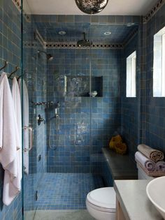 used our loose turquoise tiles and a custom border to create this happy turquoise bathroom by mosaichousenyc Moroccan Bathroom, Modern Bathroom, Small Bathroom, Turquoise Tile, Turquoise Bathroom, Bad Inspiration, Bathroom Inspiration, Mediterranean Bathroom, Mediterranean Decor