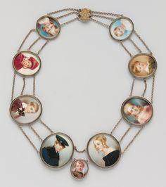 Thomas Seir Cummings: A Mother's Pearls (Portraits of the Artist's Children) (28.148.1) | Heilbrunn Timeline of Art History | The Metropolitan Museum of Art