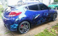 Great Looking Car Art. Great Looking Wheels by RimPro-Tec (wheel bands)