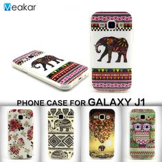 Painted Pattern Soft TPU Silicon 4.3for Samsung Galaxy J1 Case For Samsung Galaxy J1 2015 J100 J100H Cell Phone Cover Case