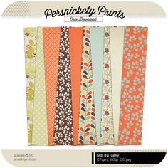 Free Fall Kit from Persnickety Prints