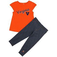 University of Virginia Cavaliers Girls' Tee Shirt and Jeggings Set (12-18 M) Colosseum http://www.amazon.com/dp/B00U2TTQP4/ref=cm_sw_r_pi_dp_OUjEwb062MVHB