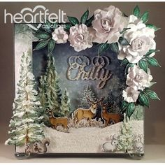 Heartfelt Creations - Chilly Winter Scene Card Project