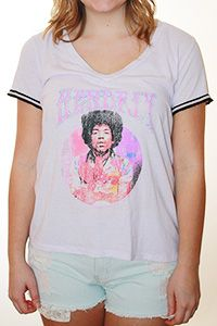 Hendrix Distressed Tee